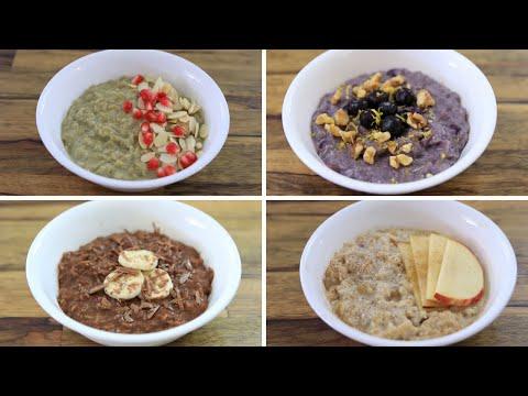 Healthy Oatmeal Porridge – 4 Easy Recipes