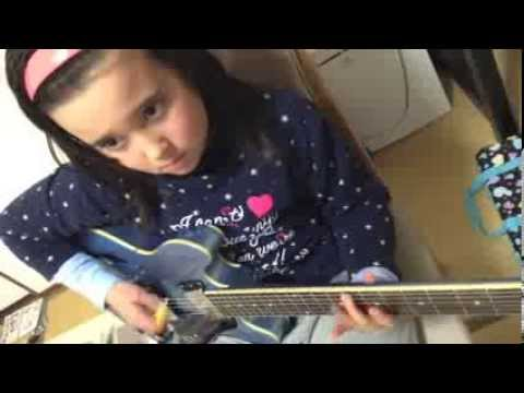 ROCKSMITH2014 Audrey (10 yrs old) Plays Guitar - My Own Summer (Shove It) - Deftones - 98% ロックスミス