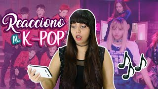 REACCIONANDO AL K-POP POR PRIMERA VEZ! (BTS, BLACK PINK, EXO, GIRLS GENERATION Y MÁS)