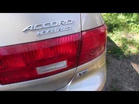 Honda Accord Hybrid 2005 V6 Review