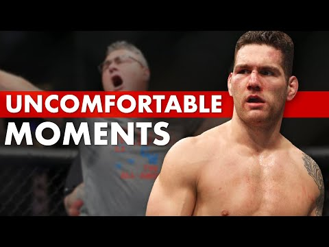 10 Most Uncomfortable Moments in MMA History