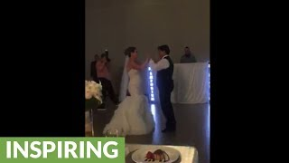 Bride surprises everyone with incredible father-daughter dance