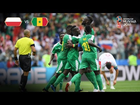 Senegal Goal 1 v Poland - MATCH 15