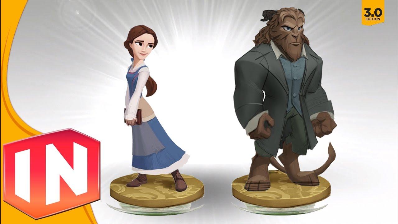 Disney Infinity 3 0 Belle Beast Figure Designs Revealed