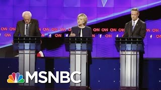 Rachel Maddow Reflects On Democratic Debate | Rachel Maddow | MSNBC