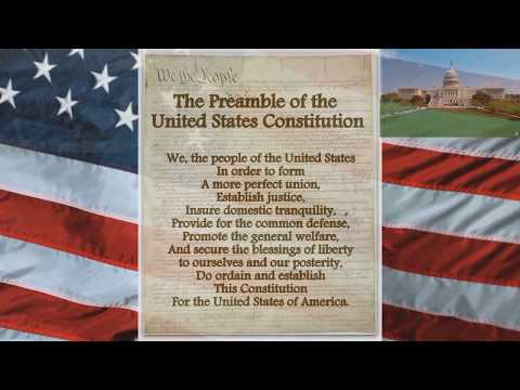 The Preamble of the United States Constitution