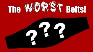 BZ's WORST Championship Belts! | Wrestling With Wregret