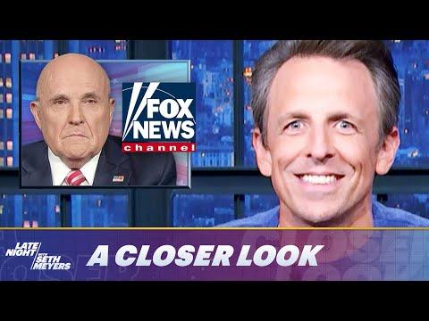 Fox News Bans Rudy Giuliani, Arizona