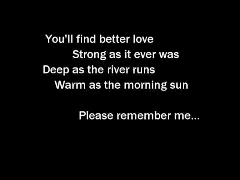 Tim McGraw - Please Remember Me - With Lyrics