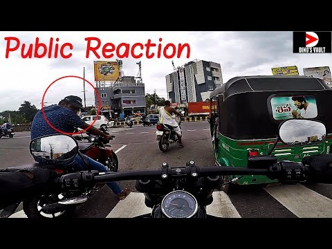 Public Reaction, Harley Davidson Fat Bob Street Ride Raw Footage #DinosVlogs