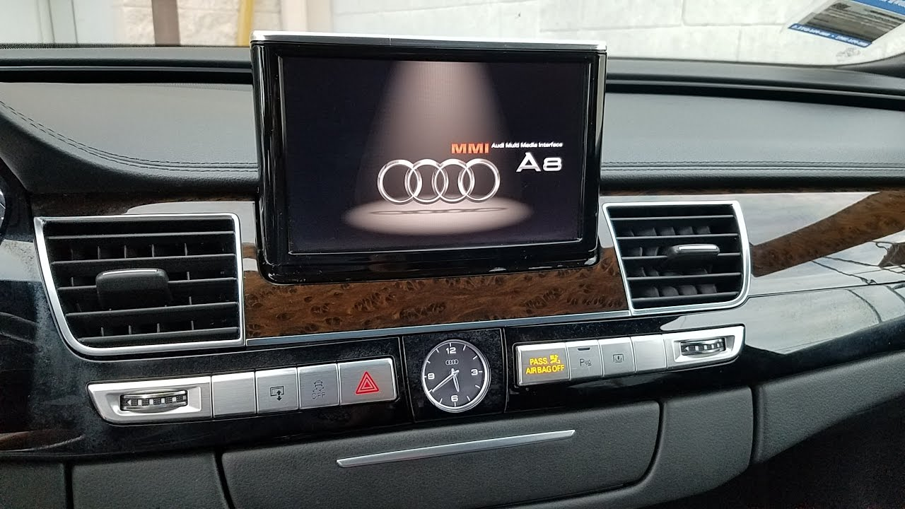 how to remove radio multimedia navigation display from audi a8 rh youtube com Audi R8 Spyder Audi Q7
