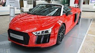 Audi R8 Spyder V10 Plus Debuts In The Metal