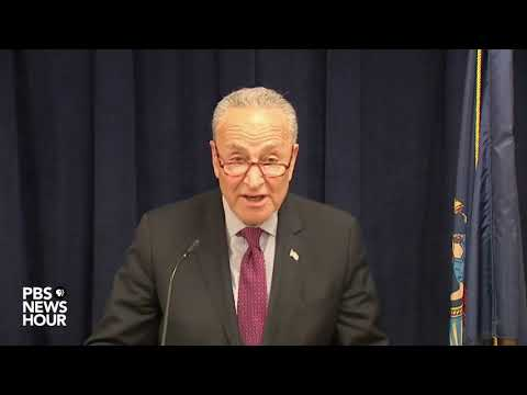 WATCH: It's 'imperative' that Barr make the full Mueller report public, Sen. Schumer says