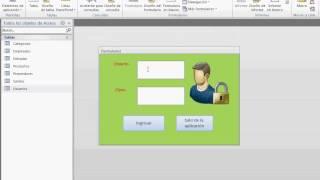 Cómo crear un formulario de seguridad en Access, que permita a los ...