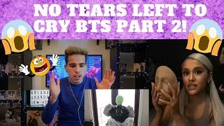 Ariana Grande - No Tears Left To Cry (BTS - Part 2) | REACTION (JUST WOW)