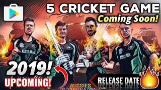 ????WOW! 5 Surprise 2019 Upcoming 4K Graphic Cricket Game For ANDROID | Release Date Confirm! | Hind