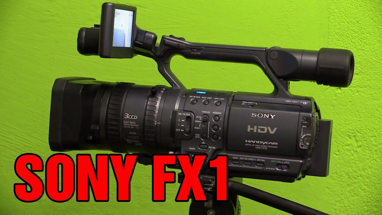 sony hdr fx1 hdv handycam overview and how to youtube rh youtube com sony hdr-fx1 service manual Sony Z7E
