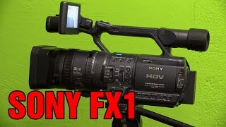 Sony HDR-FX1 HDV Handycam overview and how to
