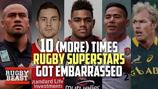 10 (more) Times Rugby Superstars got EMBARRASSED