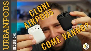 AIRPODS LOW COST? Recensione URBANPODS