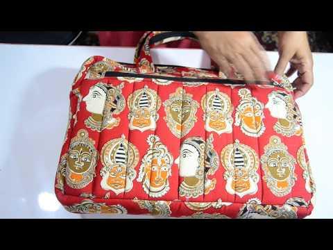 DIY EASY TO SEW WATERPROOF LAPTOP BAG/  HANDBAG /अपना लैपटॉप बैग हैंडबैग की तरह बनायें