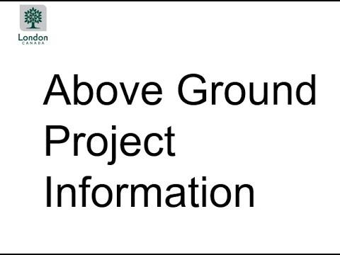 Presentation 2: Above Ground Information for Sackville Street