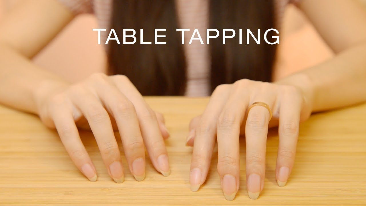 ASMR Relaxing Table Tapping | Different Surfaces (No Talking)