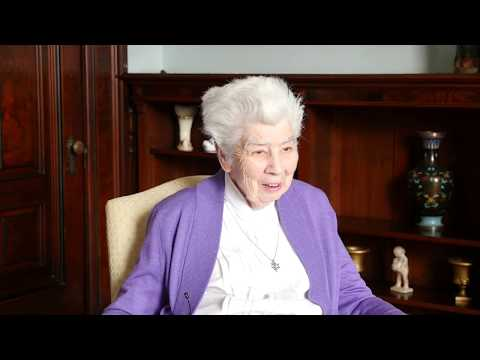 Voices Of SJC: Oral History - S. Mary Florence Burns - Spring 2017