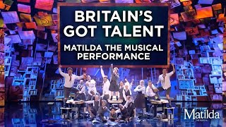 Matilda The Musical perform on Britain's Got Talent 2018