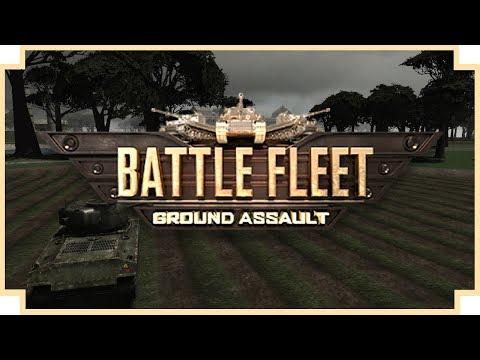 Battle Fleet: Ground Assault - (WWII Tank Strategy Game)