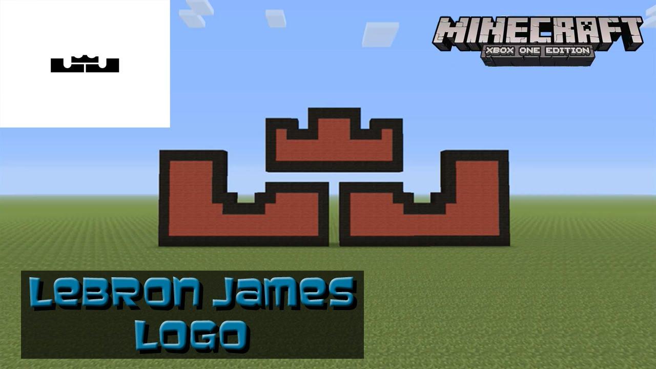Minecraft Pixel Art Tutorial Lebron James Logo Nike