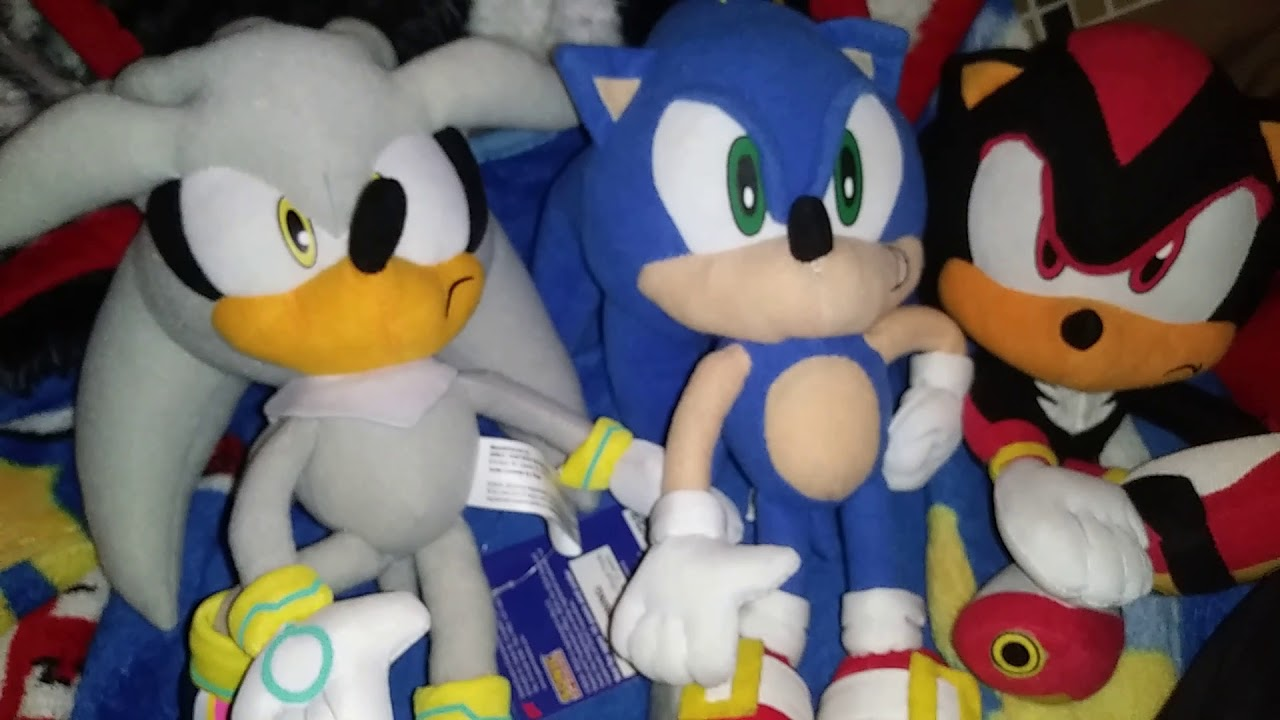 Great Eastern Silver The Hedgehog Sonic Plush Unboxing