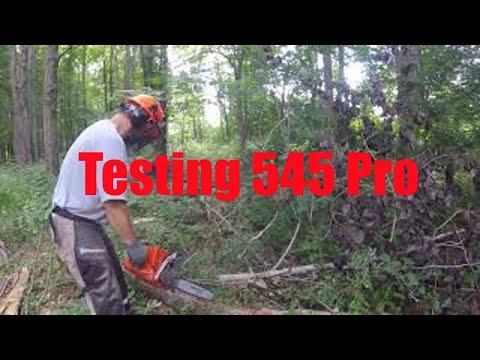 Testing The New Husqvarna 545