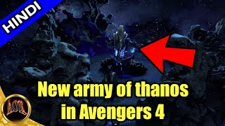 Army Of thanos in Avengers 4 explained in hindi || changing aor