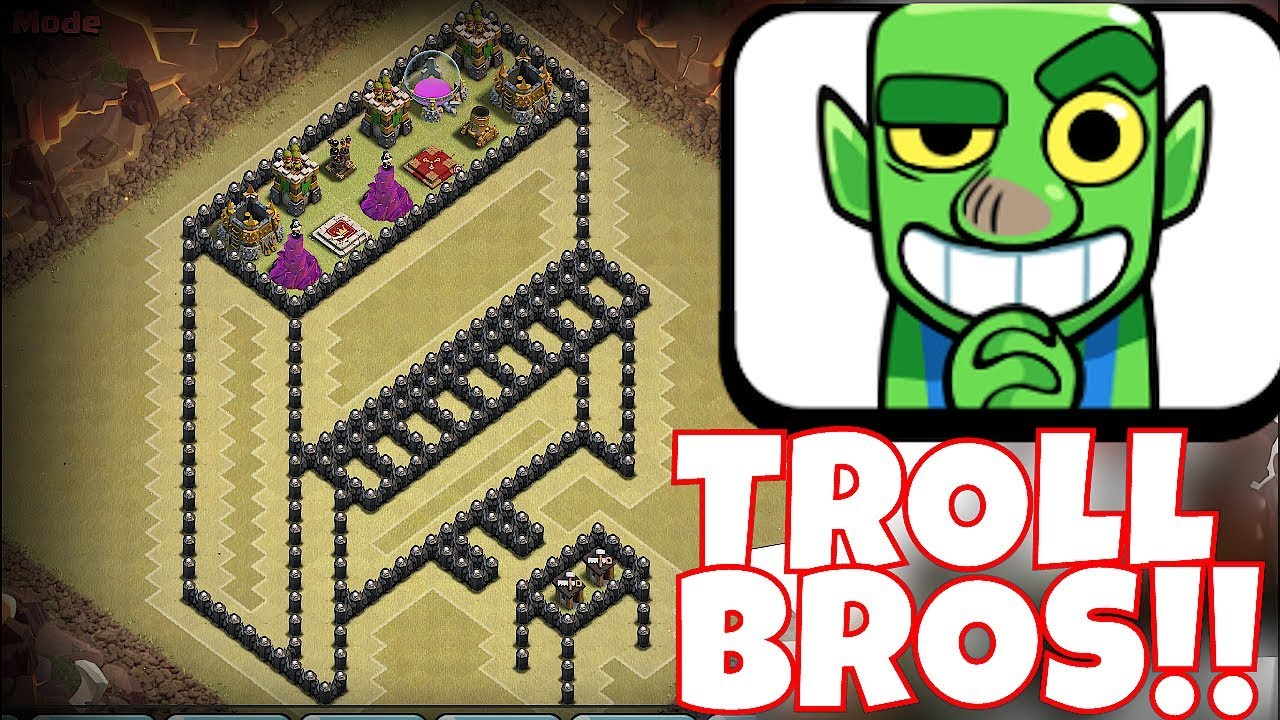 """IS IT A PIANO OR A TABLE!?! """"Clash Of Clans"""" TROLL BROTHERS WAR!!"""