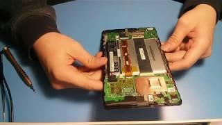 Что делать если планшет не реагирует на касания? (ремонт ASUS memo pad 7)