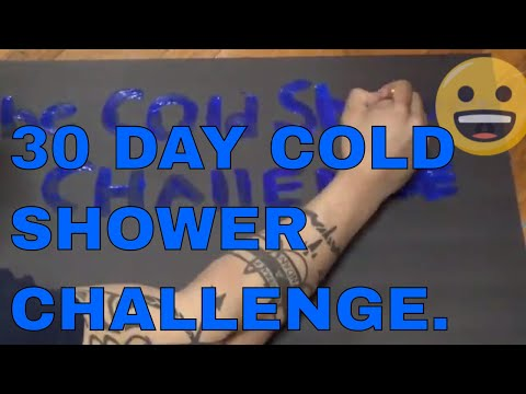 THE 30 DAY COLD SHOWER CHALLENGE: How Cold Showers Changed My Life!