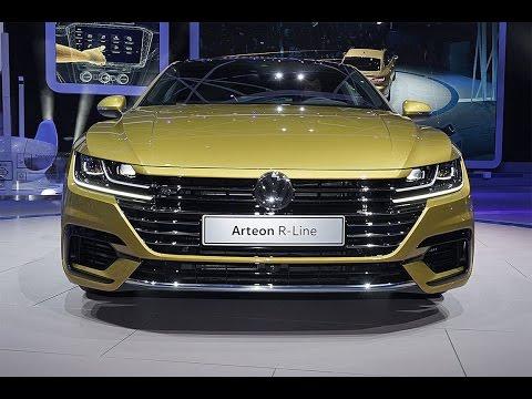 Volkswagen Arteon 2017. Замена Фольксвагену Пассат СС.