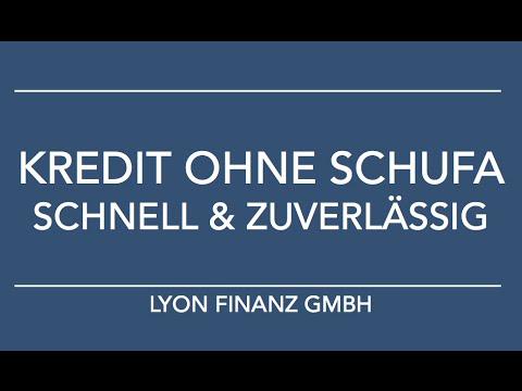 Kredit ohne Schufa mit Lyon Finanz - schnell & zuverlässig