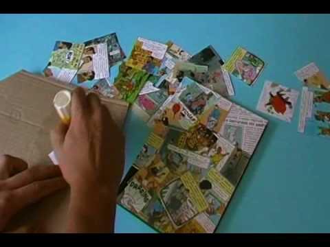 personnaliser un agenda avec des vignettes de bds youtube. Black Bedroom Furniture Sets. Home Design Ideas