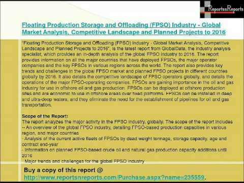 Floating Production Storage and Offloading (FPSO) Industry