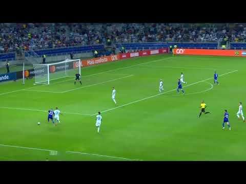 Gol de Paraguay con relato de Bruno Pont