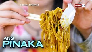 Ang Pinaka: The secret behind eating noodles