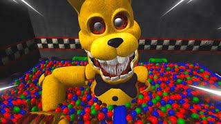 SOY GOLDEN FREDDY Y INTO THE PIT BONNIE ME COME VIVO! INCREIBLE 😱 | FNAF The Killer in Purple