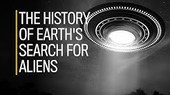 The history of Earth's search for aliens