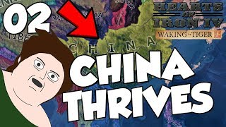 CHINA HOLDS! Hearts of Iron 4 - Waking The Tiger China Part 2