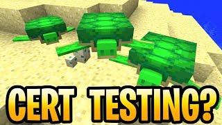 Minecraft Update Aquatic Console Cert Testing Details! Release Date? Vita,PS3, PS4, Wii U & Xbox 360