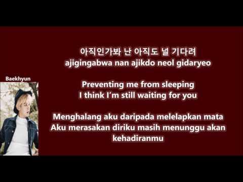 Baekhyun(EXO) ft Soyou(Sistar) - Rain with Malay   Eng   Han   Rom lyrics