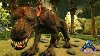 恐ろしい牙を持つ巨大なイヌ「ラヴェジャー」を捕まえる! - ARK Aberration ゆっくり実況 #4
