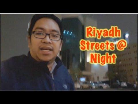 VLOG: Riyadh Streets at Night (Riyadh is Freezing)